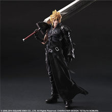 Play Arts Final PA Fantasy VII NO.1 Cloud Strife 27.7CM Anime PVC Action Figure Model Collection Toys Decoration Doll Brinquedos(China)