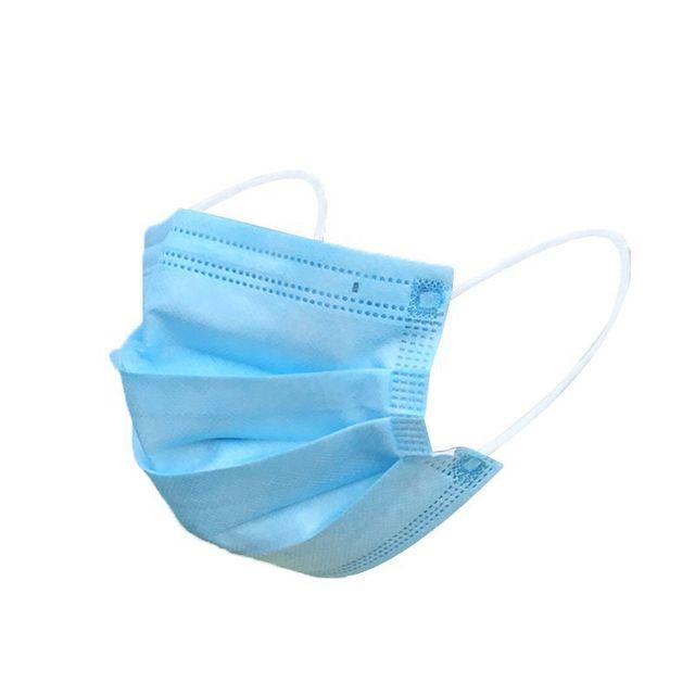 100pcs DROPSHIPPING Disposable Anti dust mask mouth korean blue Face Mask 4