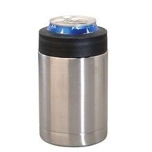 Бутылка для пива из нержавеющей стали, держатель для холодильника, двойная стенка, вакуумная изоляция, охлаждение для пива, бар, аксессуары