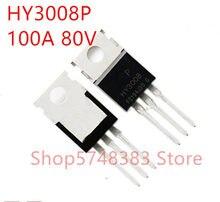 10PCS/LOT 100% new original HY3008 HY3008P TO-220 80A 100V