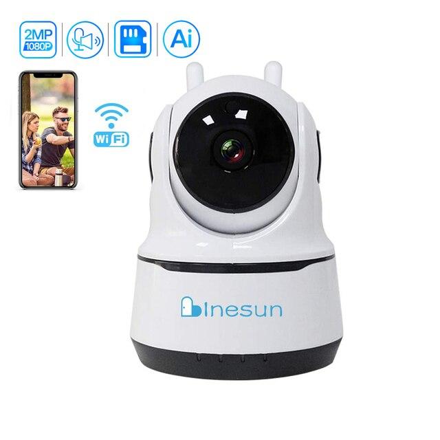 Inesun [2020 Mới Nhất]] Trong Nhà Camera An Ninh Không Dây 1080P WIFI IP Giám Sát Tại Nhà Hệ Thống Với Con Người Theo Dõi Hai chiều