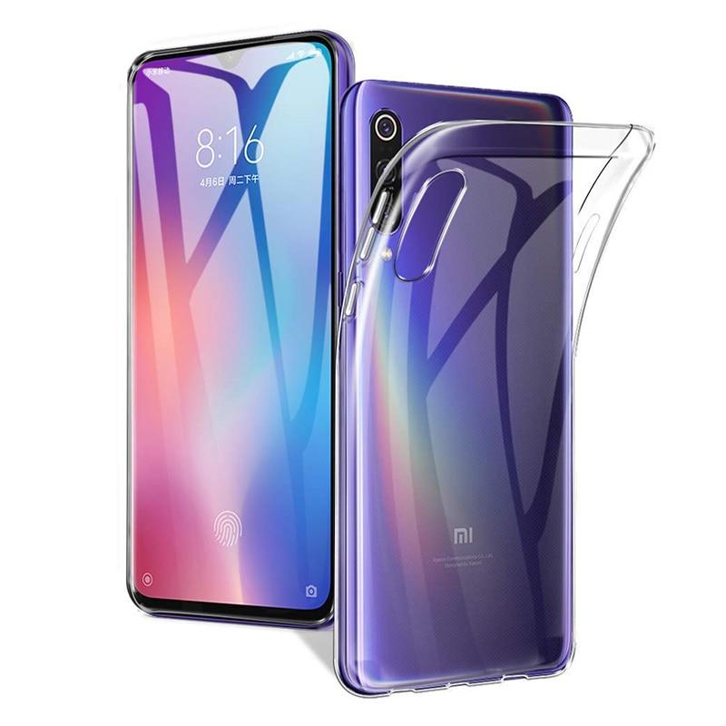 2019 Soft TPU Case For Xiaomi Mi 9 / Mi 9 SE Transparent Back Cover Phone Cases Clear Camera Protective Mi9 Global Version Mi9SE