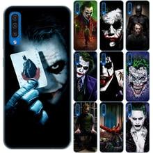 Mroczny rycerz Joker Karta skrzynki pokrywa dla Samsung Galaxy A6 A8 Plus A9 A7 2018 A10 A20 A30 A40 A50 A60 A70 A80 A90 A50S A30S