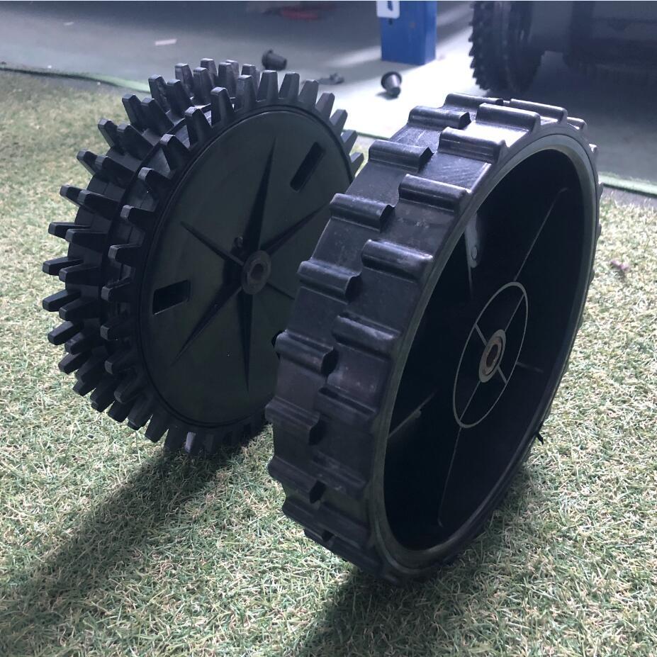 Traseira para Devvis Cortador de Grama Roda Robô E1800s E1800 E1800t