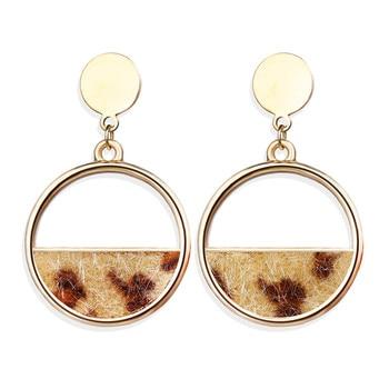 Geometric Shell Earrings For Women Earrings Jewelry Women Jewelry Metal Color: CS57342