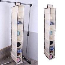 Wardrobe Organizer Pocket-Shoes Storage-Bag Hanging 10-Layers