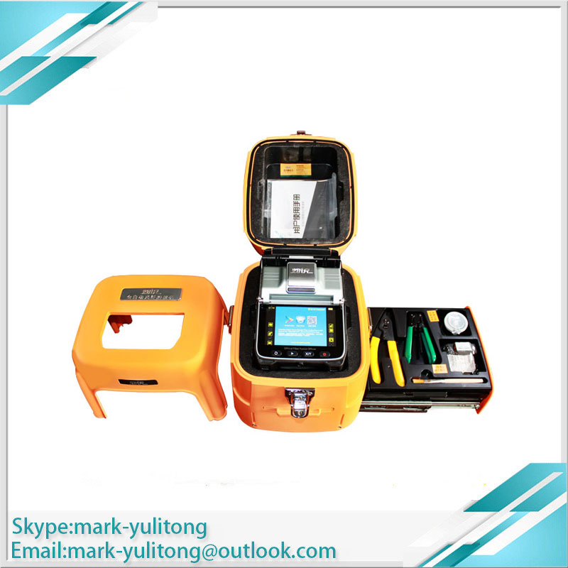 AI-7C Fiber Optic Fusion Splicer FTTH Network Portable Welding Machine Toolbox, Seat Can Withstand 100kg Box Can Be Equipped Wit