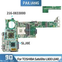 L840 For TOSHIBA Satellite L800 DABY3CMB8E0 SLJ8E 216 0833000 Mainboard Laptop motherboard DDR3 tested OK