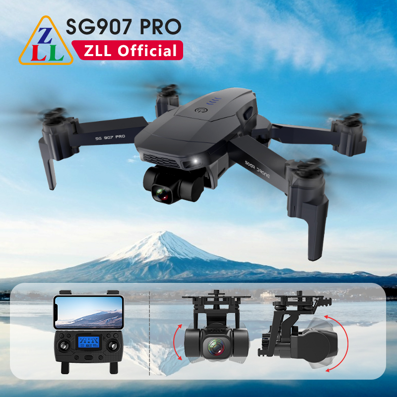 ZLL SG901 SG907 Pro GPS Dron 5G WIFI With 2 Axis Gimbal ESC 4K Camera Drone Profesional RC Quadcopter Max Distance 800m|Camera Drones| - AliExpress