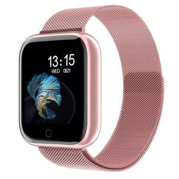 Steel Smartwatch Women Waterproof Smart Watch Men T80 Bluetooth Heart Rate Monitor Fitness Tracker For Apple IPhone Android 1