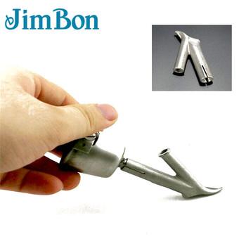 Prędkość dysza spawalnicza 8mm trójkątny kształt 5 2mm okrągły kształt do zgrzewarka do tworzyw sztucznych tanie i dobre opinie JimBon Welding Nozzle Round