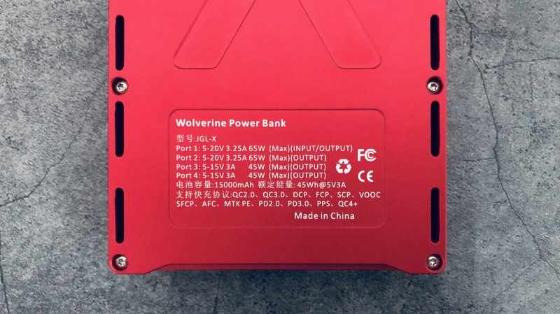 X JGL-X Цвет Экран Мощность банк кулона счетчик полный протокол Мощность банк PD2.0 PD3.0 QC2.0 QC3.0 QC4.0 QC4 + VOOC FCP SCP AFC PE2