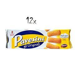 12 Barilla Pavesi Pavesini GLI galletas italianas originales galletas 200g Snack