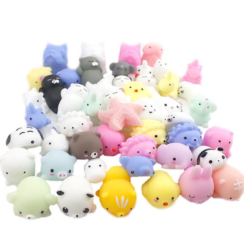 Wipes Antistress Boot Ball Decompression Sticky Eliminate Pets Squishy Soft Cute Cat Fun Stress Squishies Squeeze Kit Toys