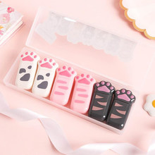 6 stks/pak Kawaii Kat Claw Paw Magic Decoratieve Plastic Correctie Tapes Corrector Dagboek Briefpapier Kantoor School Supply Gift(China)