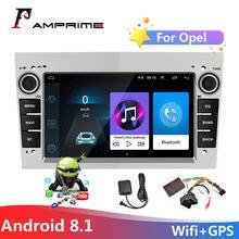 AMPrime Android 2din Car radio Multimedia Player For Opel Astra Antara Vectra Corsa Zafira Meriva Vivaro Wifi GPS FM Auto Stereo