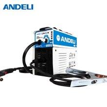 ANDELI цифровой бытовой MIG-250E synergic mig сварочный аппарат однофазный 220 В сварочный аппарат мини-миг без газа mig сварочный аппарат