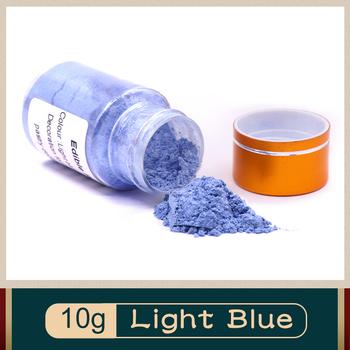Jasnoniebieska jadalna żywność w proszku 10g do dekoracji żywności barwnik pigmentowy do pieczenia chleba czekoladowego tanie i dobre opinie CN (pochodzenie) -KSYF- LOOSE