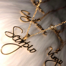 Custom name necklace Stainless Steel Personalized Privatecustom Gold Color Nameplate Pendant Choker For Women Special Gift(China)