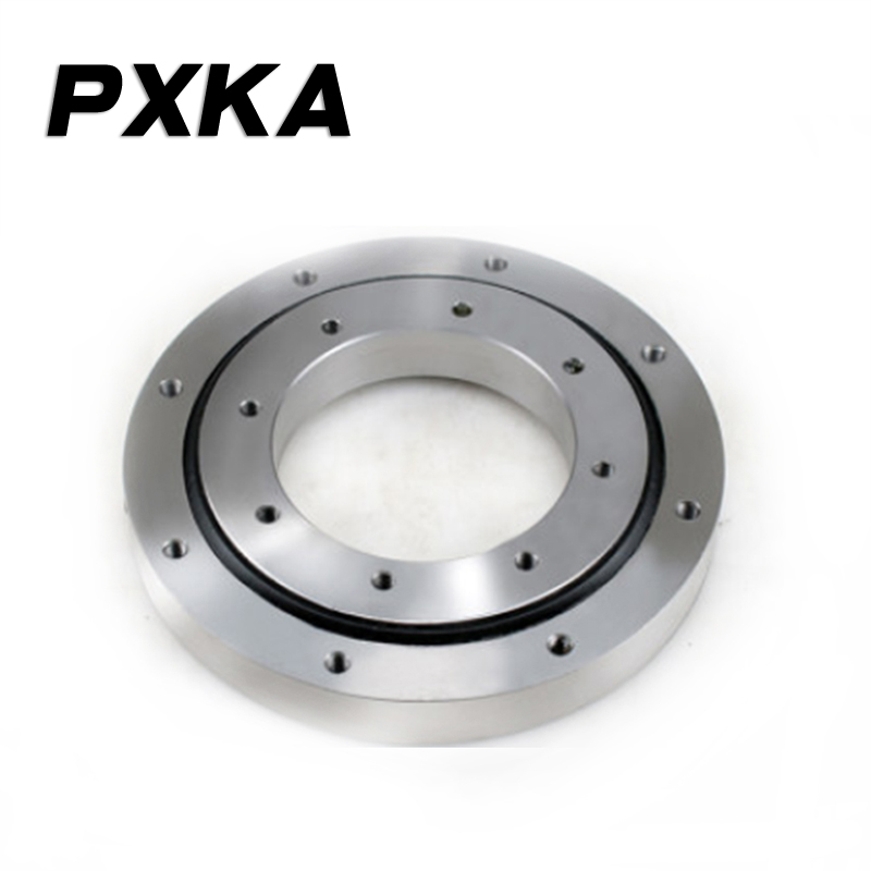 Small slewing bearing mechanical arm base turntable bearing automation equipment small crane dedicated rotating disc