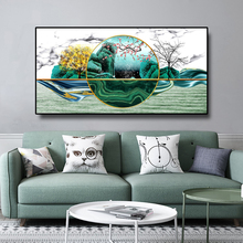 Abstract Landscape Canvas Painting Nordic Home Decor Posters And Prints Wall Art Picture For Living Room Bedroom Decoration nordic lavender sea landscape posters and prints canvas painting flower scandinavian wall art picture for living room home decor