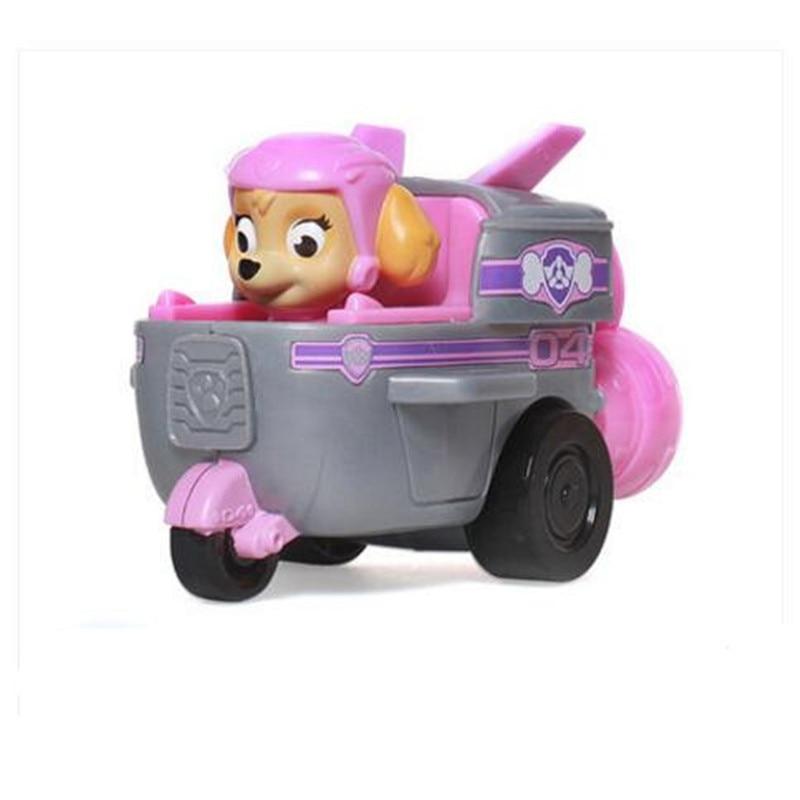 Paw Patrol, набор игрушек, собака Patrulha Canina, аниме, фигурка автомобиля, фигурки, украшения, игрушки для детей, подарки на день рождения 2D32 - Цвет: 7 no box