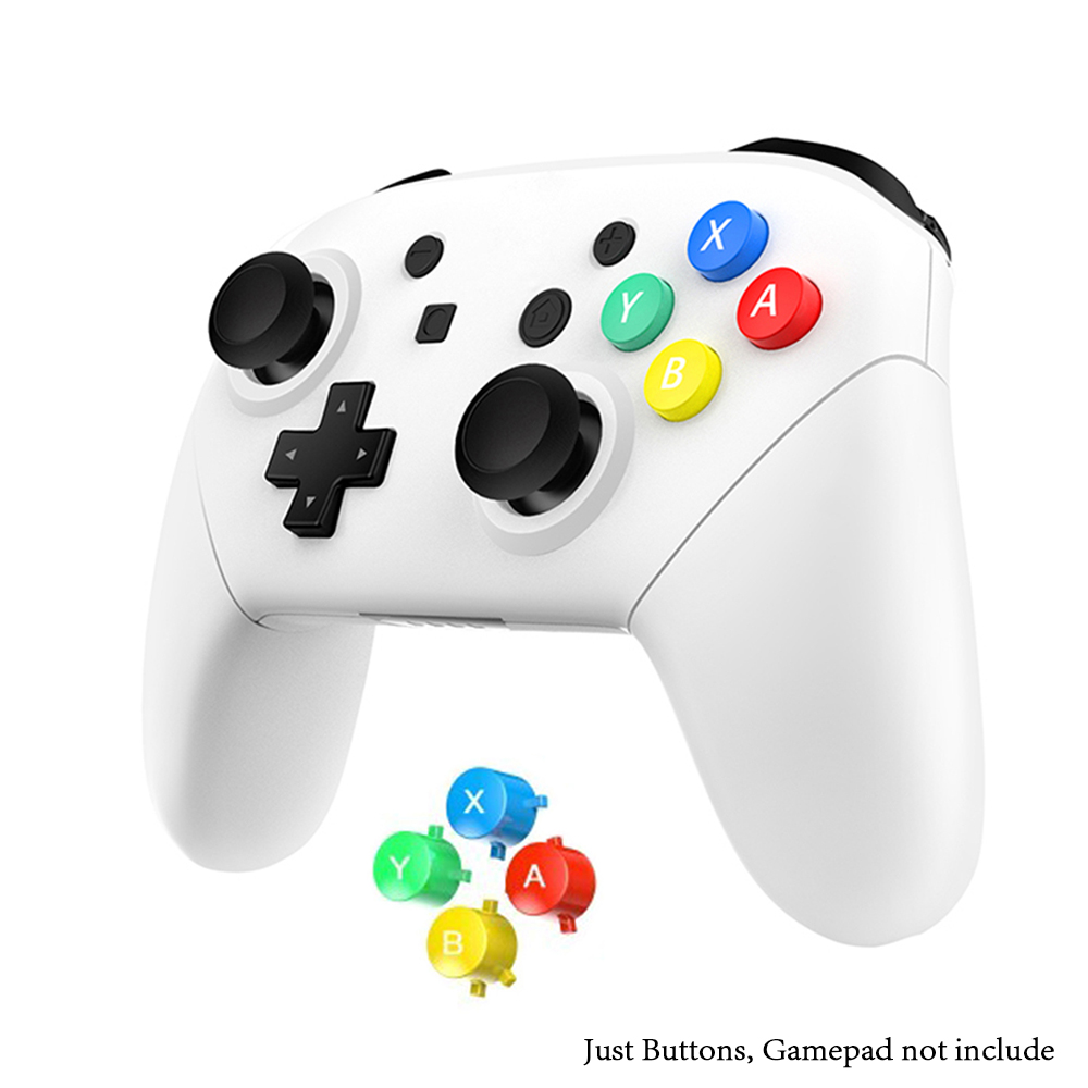 1set Colorful ABXY Buttons For Nintendo Switch Pro Controller Gamepad Replacement ABXY Direction Key Buttons Accessories