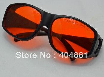 O.D 7 + ירוק לייזר בטיחות משקפיים עבור 190-540nm OD 7 + CE