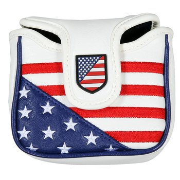 New High Quality Golf Putter Cover Mallet Headcover Square Shape Club Head