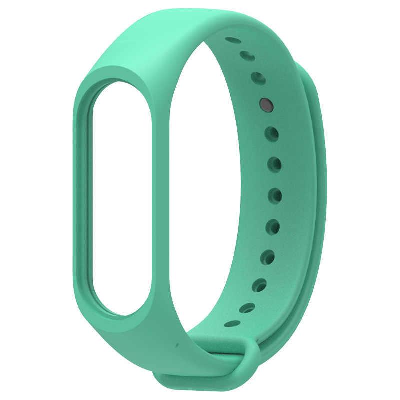 Silikon band Smart strap Für Xiao mi mi Band 4 Braceletsmart uhr Strap Silikon Handgelenk Band