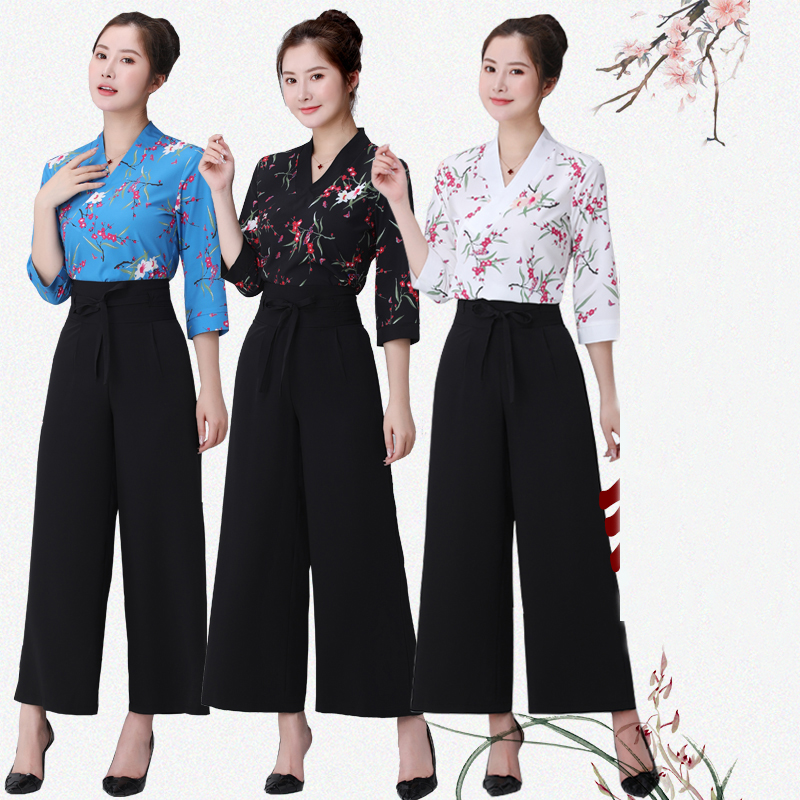 Beauty Salon Beautician Uniform Spa Health Center Work Clothes Women's Foot Bath Sauna Massage Health Technician Clothing Suit