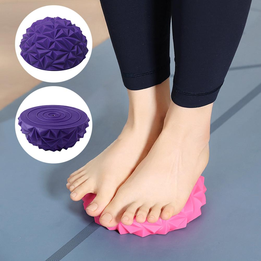 Training Yoga Half-ball Water Pineapple Ball Foot Massage Ball Exercise Toy Fitness Balls
