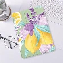 Las plantas de flores, arte por aire 4 ipad 8th generación caso 9,7 Pro 2019 7th 6th Pro 11 2020 Mini 2 3 4 5 cubierta de silicona de 1 3