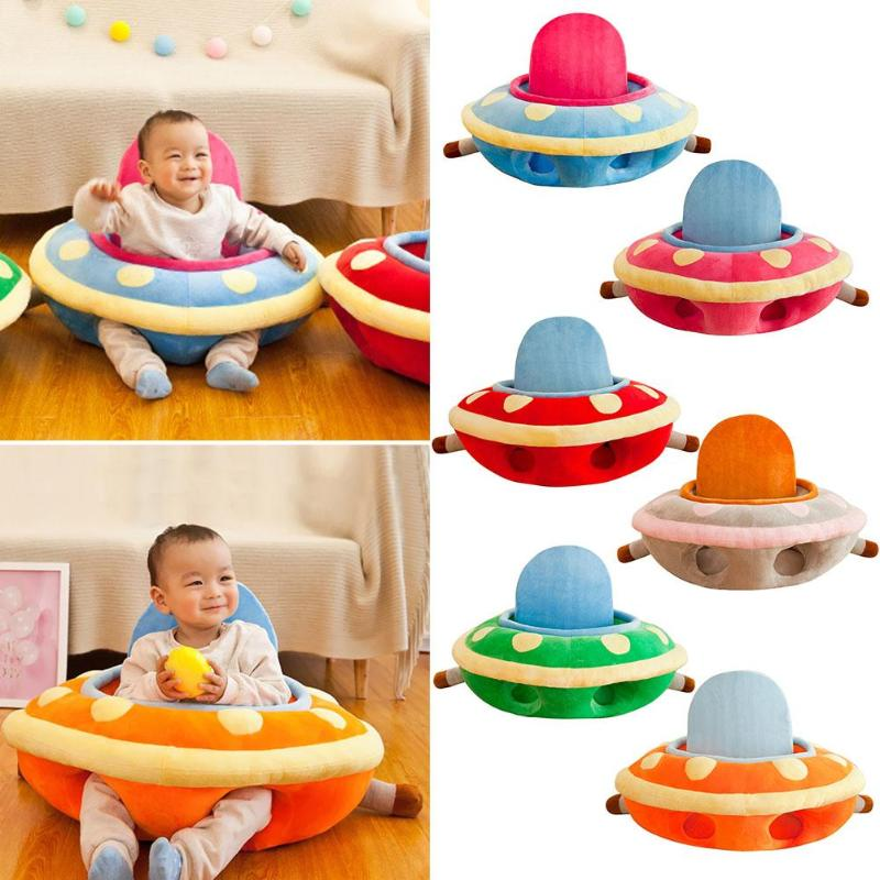 Lovely Soft Washable Sitting Chair Support Seat Cover Wide Scope Of Application Fashionable Atmosphere For Baby Birthday Gift