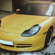 Неокрашенные веки для фар брови для 98-01 Porsche 911 996& 99-04 Boxter