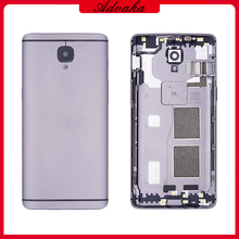 Advaka Battery Housing Cover Back Rear Door Case Replacement For Oneplus One Plus 3 A3000 A3003 1+3 1+3T A3010