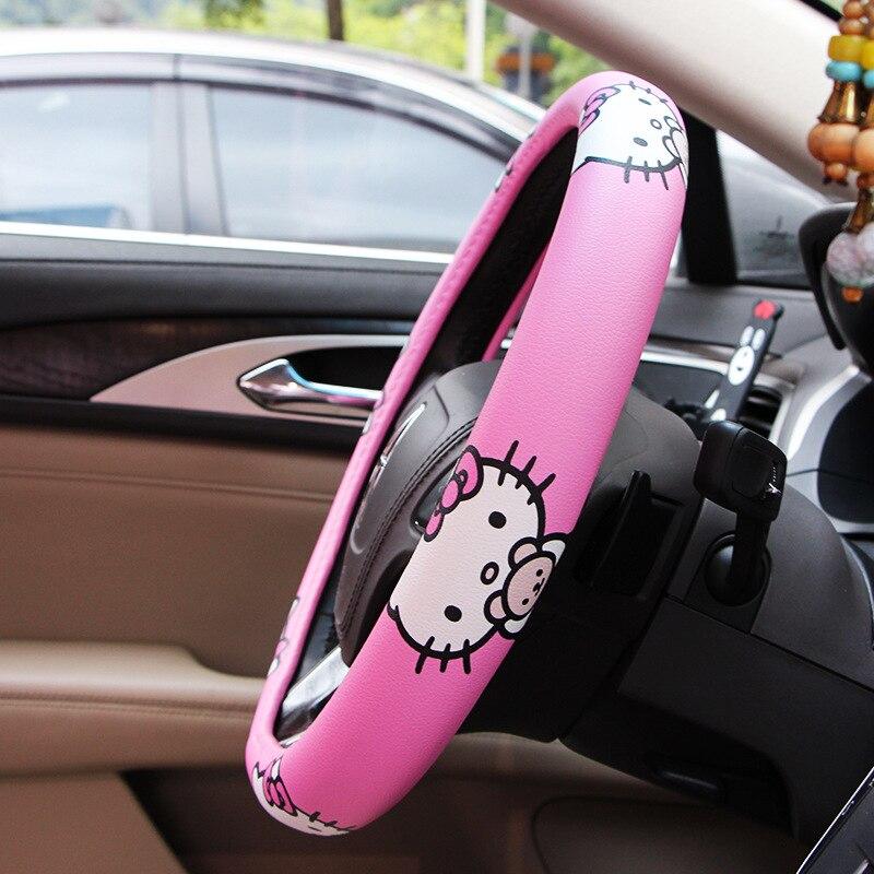 capa de roda carro rosa acessorios do carro 03