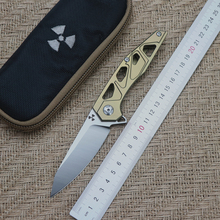 JK3331GD sky flip folding knife ball bearing D2 blade TC4 titanium handle outdoor camping multi-purpose hunting EDC tool стоимость