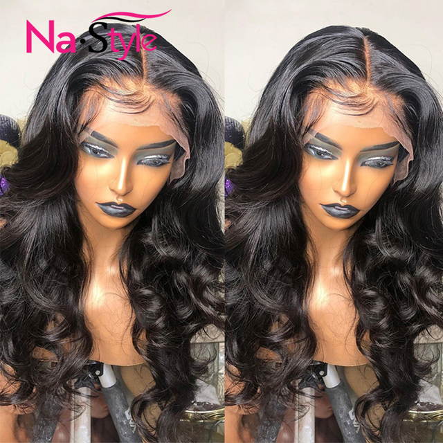 Transparent Lace Wig 250 Density Lace Front Wig Invisible Lace Front Human Hair Wigs Body Wave Preplucked Lace Wig Brazilian 3