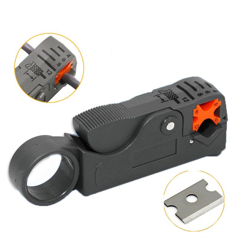1Pc Automatic Stripping Pliers Multifunctional Wire Stripper Wire Cable Tools Stripping Crimping Tool With Hexagon Wrench
