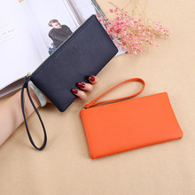 2021 New Zipper Ladies Long Wallet Coin Purse Wallet PU Fashion Clutch Bag Large Capacity Ladies Wallet