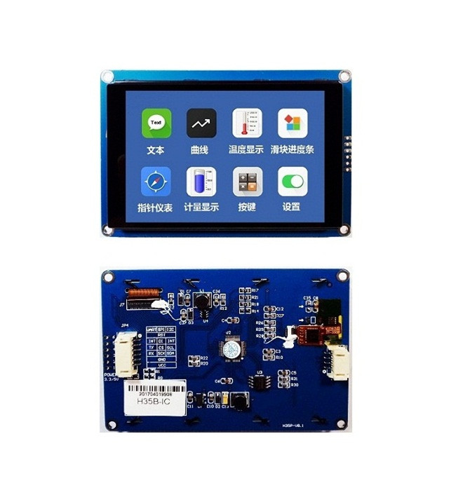 "New 3.5/"" Capacitive Touch Screen HMI I2C LCD Display Module 480x320 for  Arduino"