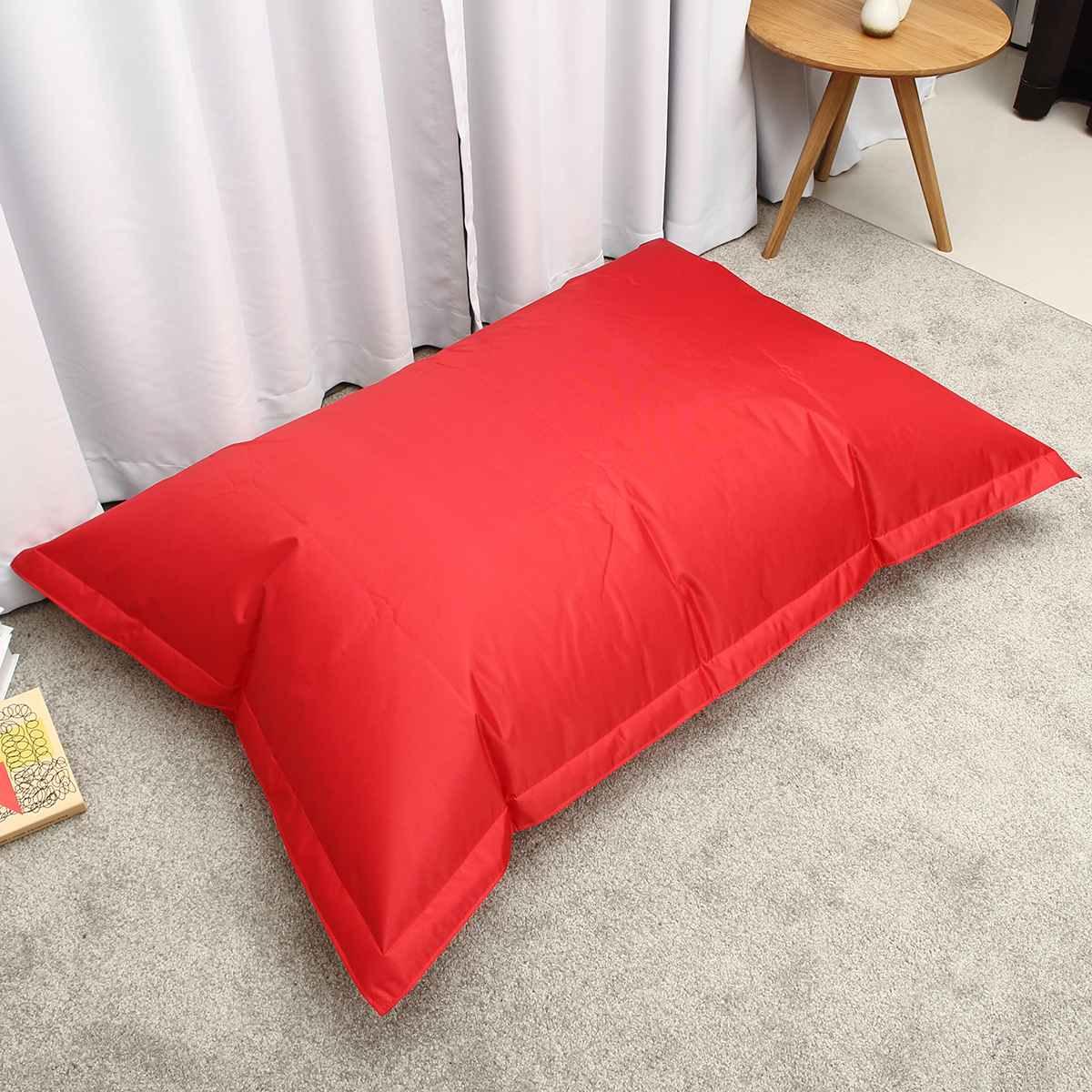 Bean Bag Cover No Filler Beanbag Lounge Bed 6 Colors Magic Bag Bean Bag Chair Sofa Cover Home Bedroom Beanbag Waterproof