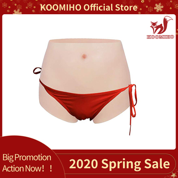 KOOMIHO Silicone Vagina Panties Crossdresser Realistic Artificial Sex Fake Underwear Transgender Drag Queen Male to Female Toy