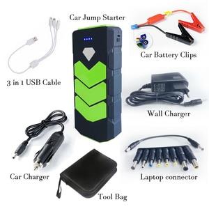 Image 5 - High Power 20000mAh Starting Device 12V Car Jump Starter Power Bank Petrol Diesel Car Charger For Car Battery Booster LED