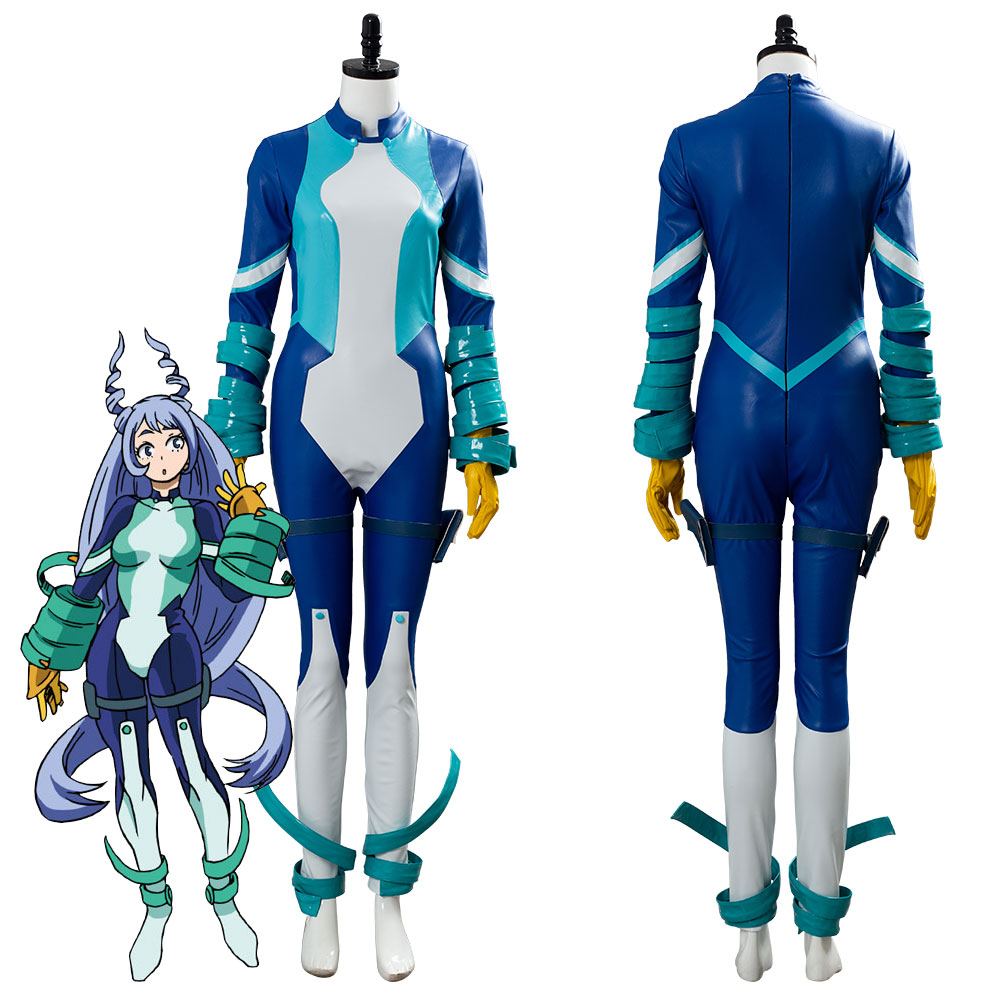 My Hero Academia Boku no Hero Academia Season 4 Big Three Nejire Hado Cosplay Costume Jumpsuit Adult Halloween Carnival costumes image