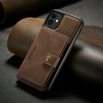Suitable for IPhone 12 Multi Card Wallet  Magnetic Mobile Phone Case  1