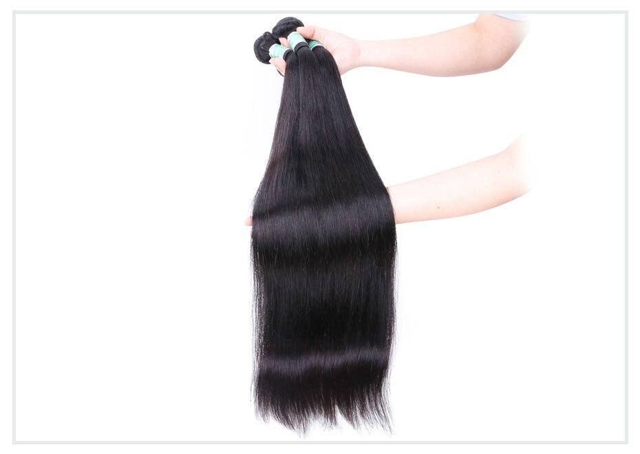 4 bundles brazilian straight hair