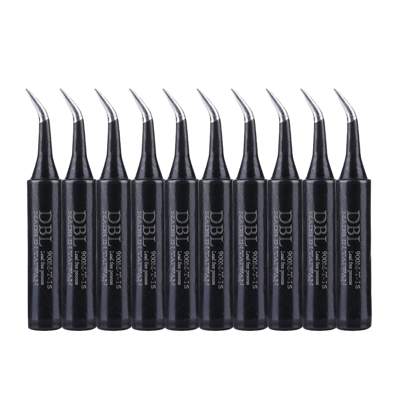 10Pcs Lot 900M-T-IS Soldering Iron Tip Lead-free Welding Sting For 936 937 852D Soldering Station Rework Repair Tool