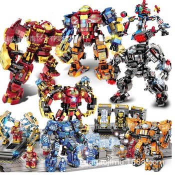 2020 New Super Heroes Iron Man Mk36 Mk85 Mech Armor Wars Superheroes Figures Building Blocks Bricks Toys For Children Gift single sale modok george tarleton from hulk lab smash set building blocks super heroes bricks action toys for children kf918